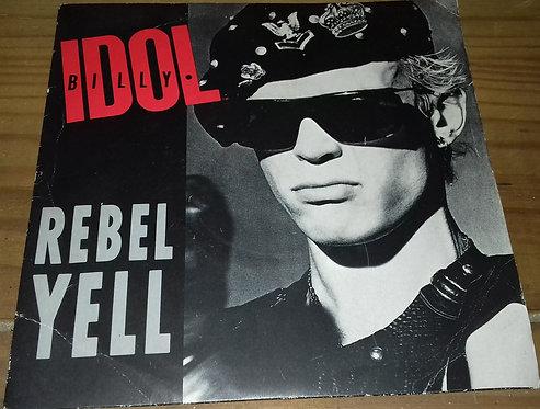 "Billy Idol - Rebel Yell (7"", Single, Blu) (Chrysalis)"
