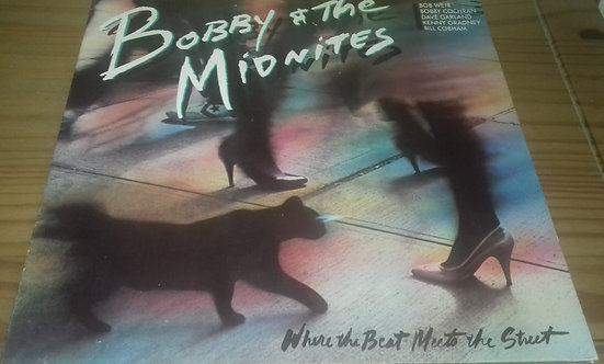 Bobby And The Midnites - Where The Beat Meets The Street (LP, Album) (CBS, CBS,