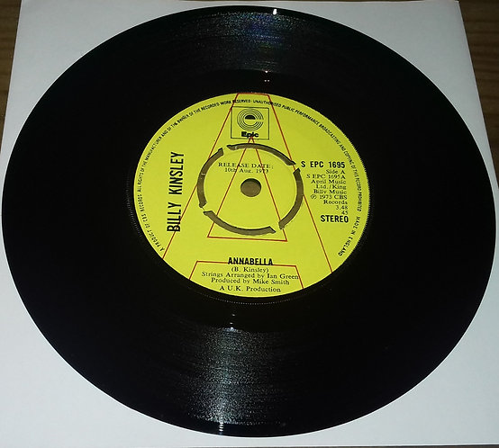 "Billy Kinsley - Annabella (7"", Promo) (Epic)"