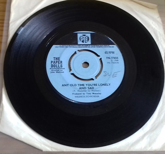"""The Paper Dolls* - Someday (7"""", Single, Pus) (Pye Records)"""