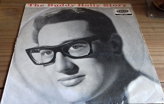 Buddy Holly - The Buddy Holly Story (LP, Comp, Mono, RE) (Coral, Coral)