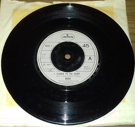 "Rush - Closer To The Heart (7"", Tan) (Mercury)"