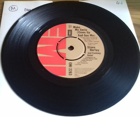 """Steve Harley And Cockney Rebel* - Make Me Smile (Come Up And See Me) (7"""", Single"""