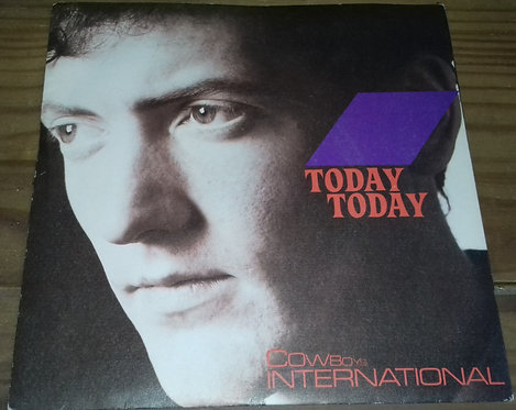 "Cowboys International - Today Today (7"", Single) (Virgin)"