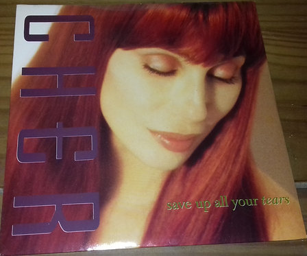 """Cher - Save Up All Your Tears (7"""", Single, Sli) (Geffen Records)"""