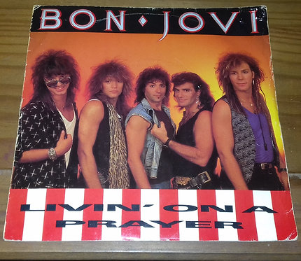 "Bon Jovi - Livin' On A Prayer (7"", Single, Ltd) (Vertigo)"