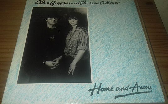 Clive Gregson And Christine Collister - Home And Away (LP, Album) (Cooking Vinyl