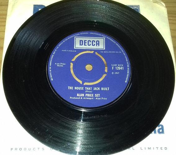 "Alan Price Set* - The House That Jack Built (7"", Single) (Decca)"
