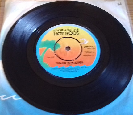 "Eddie And The Hot Rods - Teenage Depression (7"", Single, Com) (Island Records)"