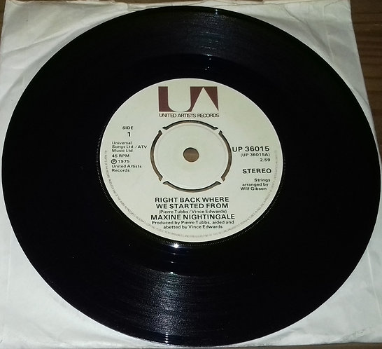 """Billie Jo Spears - Blanket On The Ground (7"""", Single, Kno) (United Artists Reco"""