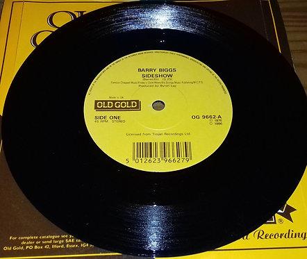 "Barry Biggs / Susan Cadogan - Sideshow / Hurt So Good (7"") (Old Gold (2))"