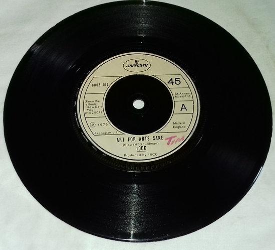 "10CC - Art For Arts Sake (7"", Single) (Mercury)"