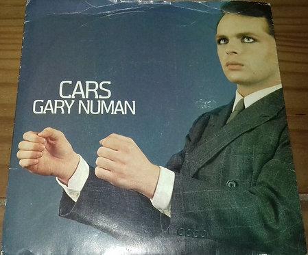 """Gary Numan - Cars (7"""", Single, Pap) (Beggars Banquet, Beggars Banquet)"""