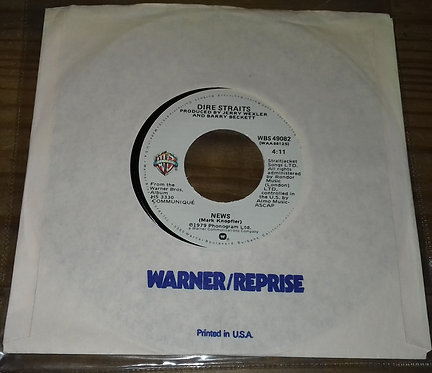 """Dire Straits - Once Upon A Time In The West (7"""", Single) (Warner Bros. Records)"""