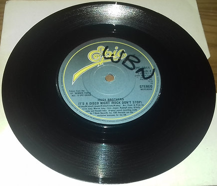 """Isley Brothers* - It's A Disco Night (Rock Don't Stop) (7"""", Single, Blu) (Epic)"""