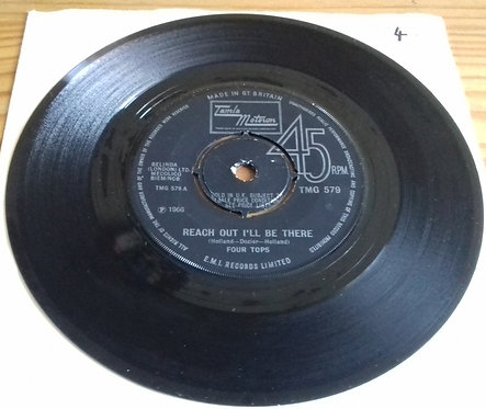 """Four Tops - Reach Out I'll Be There (7"""", Single, RP, 4-p) (Tamla Motown)"""