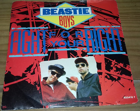 "Beastie Boys - Fight For Your Right (7"", Single) (Def Jam Recordings, CBS)"
