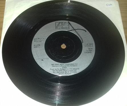 "Chic - My Feet Keep Dancing (7"", Single, RE) (Atlantic)"