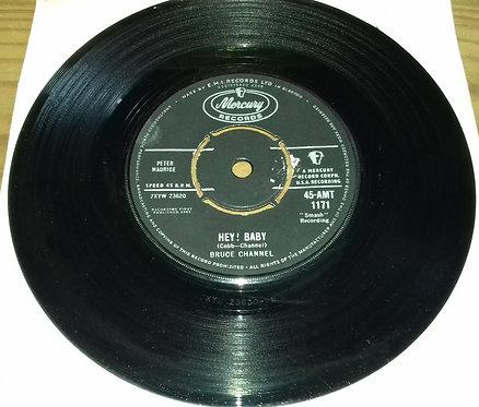 "Bruce Channel - Hey! Baby (7"", Single) (Mercury)"