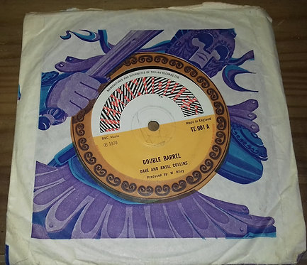 """Dave And Ansil Collins* - Double Barrel (7"""", Single, Sol) (Techniques)"""