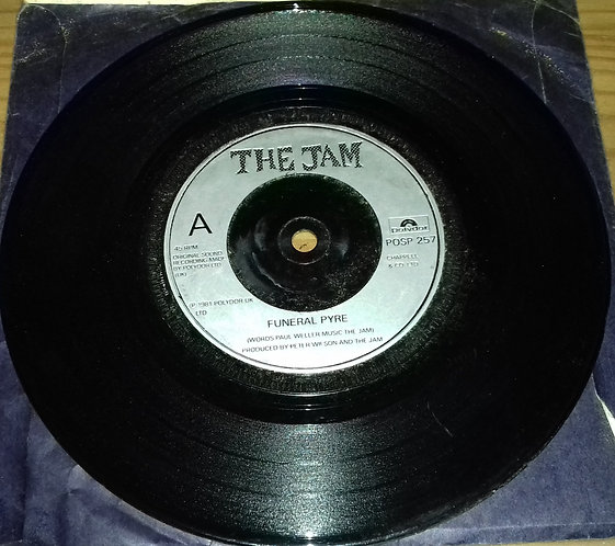 """The Jam - Funeral Pyre (7"""", Single, PRS) (Polydor)"""