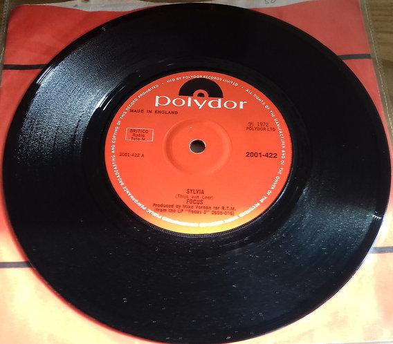 """Focus  - Sylvia (7"""", Single) (Polydor)"""
