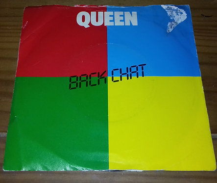 """Queen - Back Chat (7"""", Single) (EMI)"""