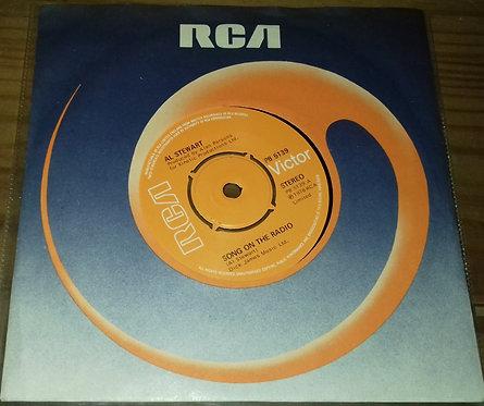 "Al Stewart - Song On The Radio (7"", Single, Pus) (RCA Victor)"