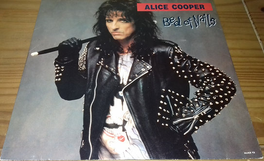 "Alice Cooper  - Bed Of Nails (12"") (Epic)"
