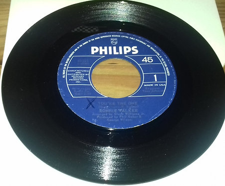 "Ronnie Walker - You're The One / Thanks To You (7"", RE) (Philips)"