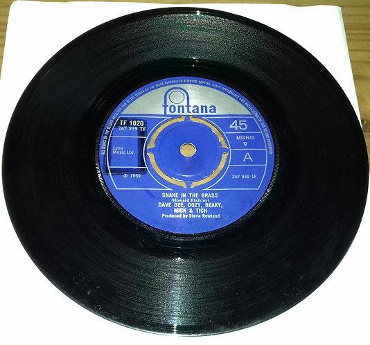 "Dave Dee Dozy Beaky Mick & Tich* - Snake In The Grass (7"", Single, Mono) (Fonta"