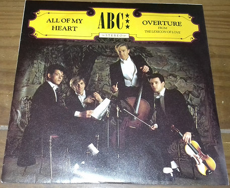 """ABC - All Of My Heart / Overture (From The Lexicon Of Love) (7"""", Single, Pap) (N"""