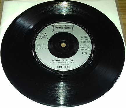 """Rose Royce - Wishing On A Star (7"""", Single, Sil) (Whitfield Records, Whitfield"""