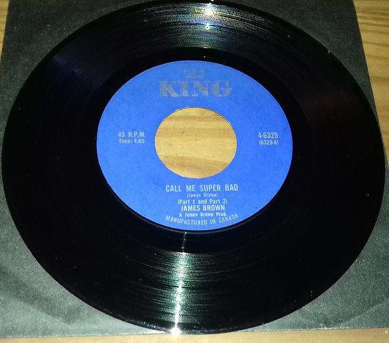 "James Brown - Call Me Super Bad (7"", Single) (King Records (3))"