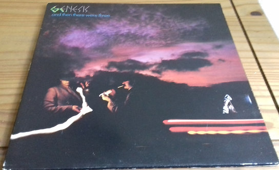 Genesis - ...And Then There Were Three... (LP, Album, Mad) (Charisma)