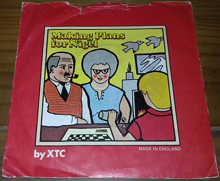 "XTC - Making Plans For Nigel (7"", Single) (Virgin)"