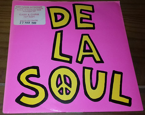 "De La Soul - Me Myself And I (7"", Single) (Big Life)"