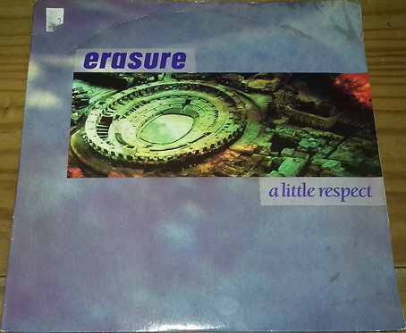 """Erasure - A Little Respect (7"""", Single, Lyn) (Mute)"""
