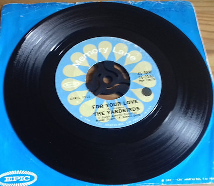 """The Yardbirds - For Your Love / Heart Full Of Soul (7"""", Single) (Epic)"""