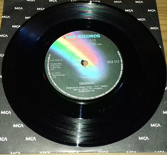 "Crusaders* - Street Life (7"", Single, Sol) (MCA Records)"