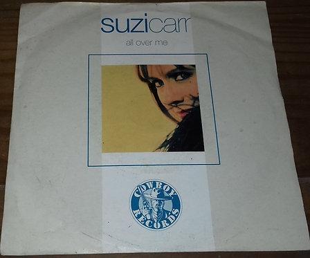 "Suzi Carr - All Over Me (7"") (Cowboy Records)"