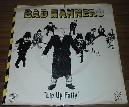 "Bad Manners - Lip Up Fatty (7"", Single, 4-P) (Magnet (2))"