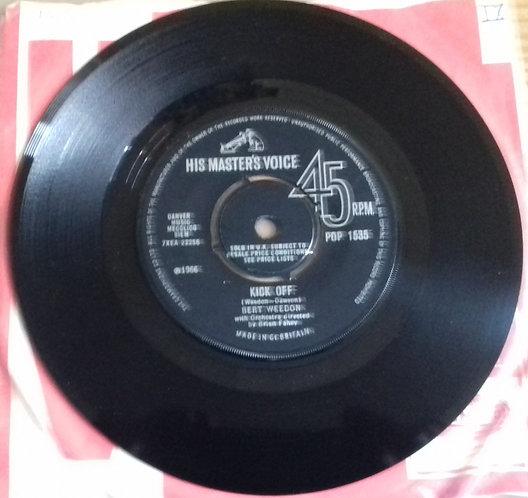 """Bert Weedon - Kick Off / MacGregor's Leap (7"""", Single) (His Master's Voice)"""