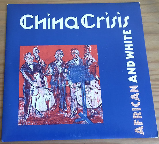 """China Crisis - African And White (7"""", Single) (Inevitable (2))"""