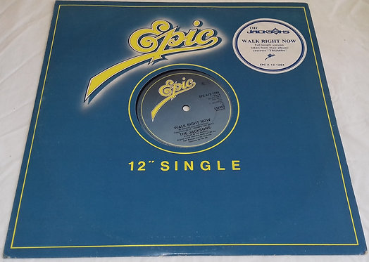 """The Jacksons - Walk Right Now (12"""") (Epic)"""