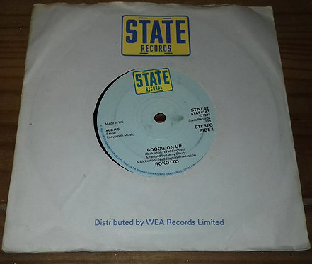 "Rokotto - Boogie On Up (7"", Single) (State Records (3))"