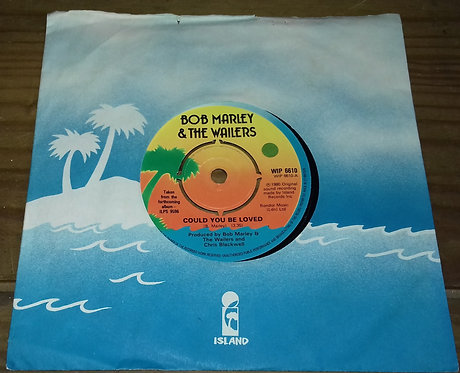 "Bob Marley & The Wailers - Could You Be Loved (7"", Single) (Island Records)"