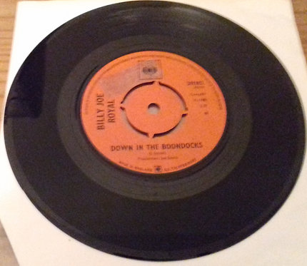 "Billy Joe Royal - Down In The Boondocks / Oh, What A Night (7"", Single) (CBS)"