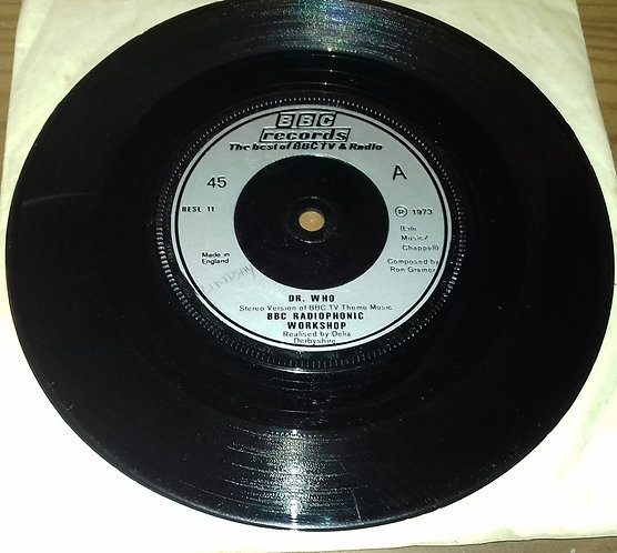 """BBC Radiophonic Workshop - Doctor Who (7"""", Single, RP, Sil) (BBC Records And Ta"""