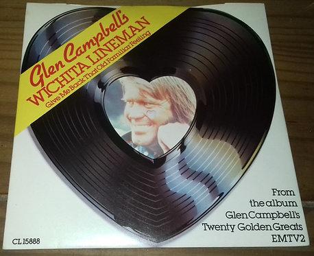 "Glen Campbell - Wichita Lineman (7"", Single, RE) (Capitol Records)"